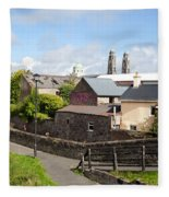 Buildings In A Town, Mullingar, County Fleece Blanket