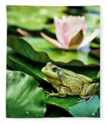 Bullfrog Fleece Blanket