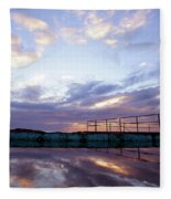Bulli Pool Fleece Blanket