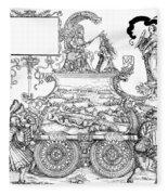 Burgkmair - Maximilian Fleece Blanket
