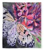 Butterfly Enchantment Fleece Blanket