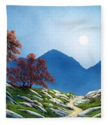 By The Light Of The Moon Fleece Blanket