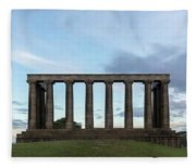 Calton Hill - Edinburgh Fleece Blanket