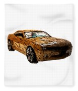 Camaro Fleece Blanket