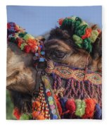 Camel Fleece Blanket