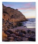Cap Salou, Spain Fleece Blanket