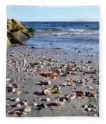Cape Cod Beach Finds Fleece Blanket