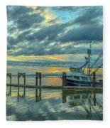 Cape Purse Seiner Fleece Blanket