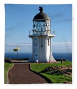 Cape Reinga Lighthouse Fleece Blanket