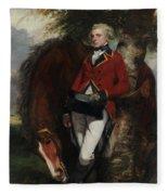 Captain George K. H. Coussmaker Fleece Blanket