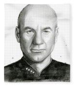 Captain Picard Fleece Blanket