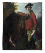 Captain Robert Orme Fleece Blanket