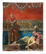 Captive In The Harem Fleece Blanket