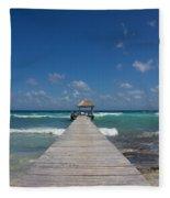 Caribbean Landing Fleece Blanket