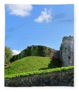 Carisbrooke Castle - Isle Of Wight Fleece Blanket