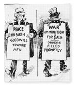Cartoon: U.s. Neutrality Fleece Blanket