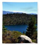 Cascade Lake Fleece Blanket