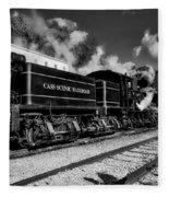 Cass Scenic Railroad Fleece Blanket
