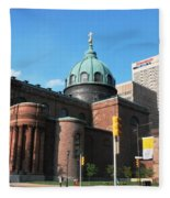 Cathedral Basilica Of Saints Peter And Paul Philadelphia Fleece Blanket