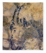 Cave Art: Ibex Fleece Blanket