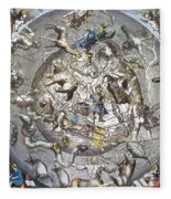 Celestial Planisphere, 1660 Fleece Blanket
