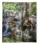 Chantara Waterfalls - Cyprus Fleece Blanket