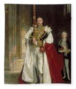 Charles Stewart Sixth Marquess Of Londonderry Fleece Blanket