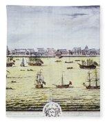 Charleston, S.c., 1739 Fleece Blanket
