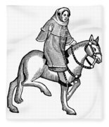 Chaucer: The Man Of Law Fleece Blanket