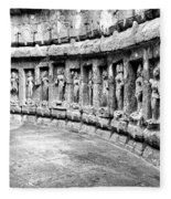Chausath Yogini Temple Fleece Blanket