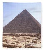Cheops Pyramid - Egypt Fleece Blanket
