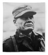 Chesty Puller Fleece Blanket