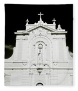 Chiaroscuro Christianity Fleece Blanket
