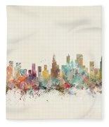 Chicago City Fleece Blanket