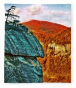 Chimney Rock Fleece Blanket