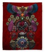 Chinese Masks - Large Masks Series - The Demon Fleece Blanket