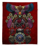 Chinese Masks - Large Masks Series - The Demon Fleece Blanket