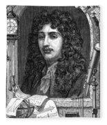Christiaan Huygens, Dutch Polymath Fleece Blanket