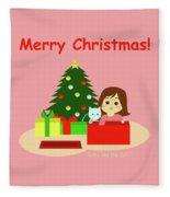 Christmas #1 Fleece Blanket