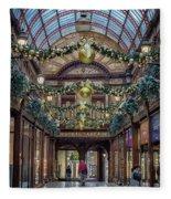 Christmas Arcade Fleece Blanket