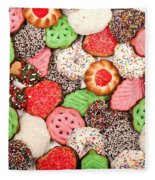 Christmas Cookies Fleece Blanket