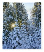 Christmas Morning Fleece Blanket