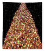 Christmas Tree Fleece Blanket