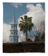 Church Bells Ringing Fleece Blanket