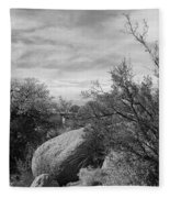 Cibola National Forest Fleece Blanket