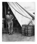 Civil War Soldier Fleece Blanket