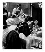 Clara Barton (1821-1912) Fleece Blanket