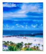 Clearwater Beach, Florida Fleece Blanket