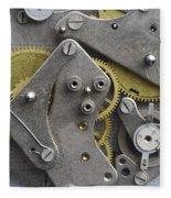 Clockwork Mechanism Fleece Blanket