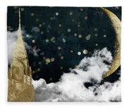 Cloud Cities New York Fleece Blanket